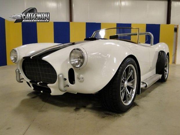 1966 ac Cobra Tribute White