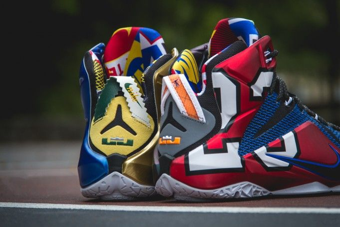 Isaac medio litro Literatura  Nike LeBron 12 What The - Sneaker Bar Detroit | Nike boots, Sneakers men  fashion, Sneakers