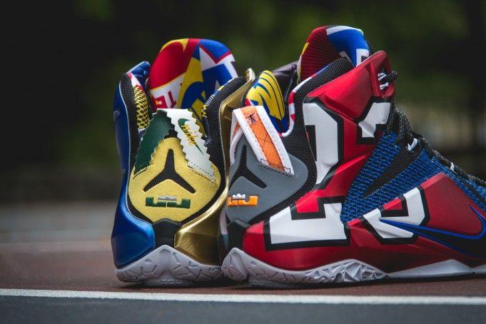 2a834c119dc Nike LeBron 12 What The - Sneaker Bar Detroit