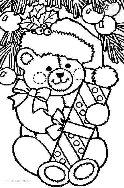 Christmas Bear Coloring Page Printable Christmas Coloring Pages Christmas Gift Coloring Pages Free Christmas Coloring Pages