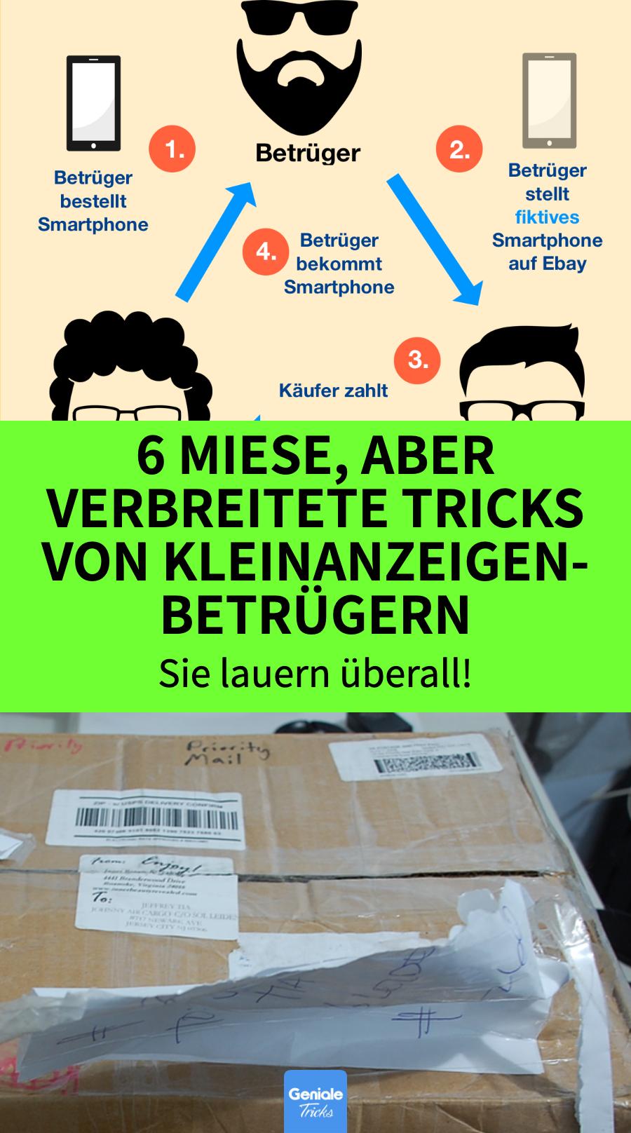 Ebay Kleinanzeigen Abzocke