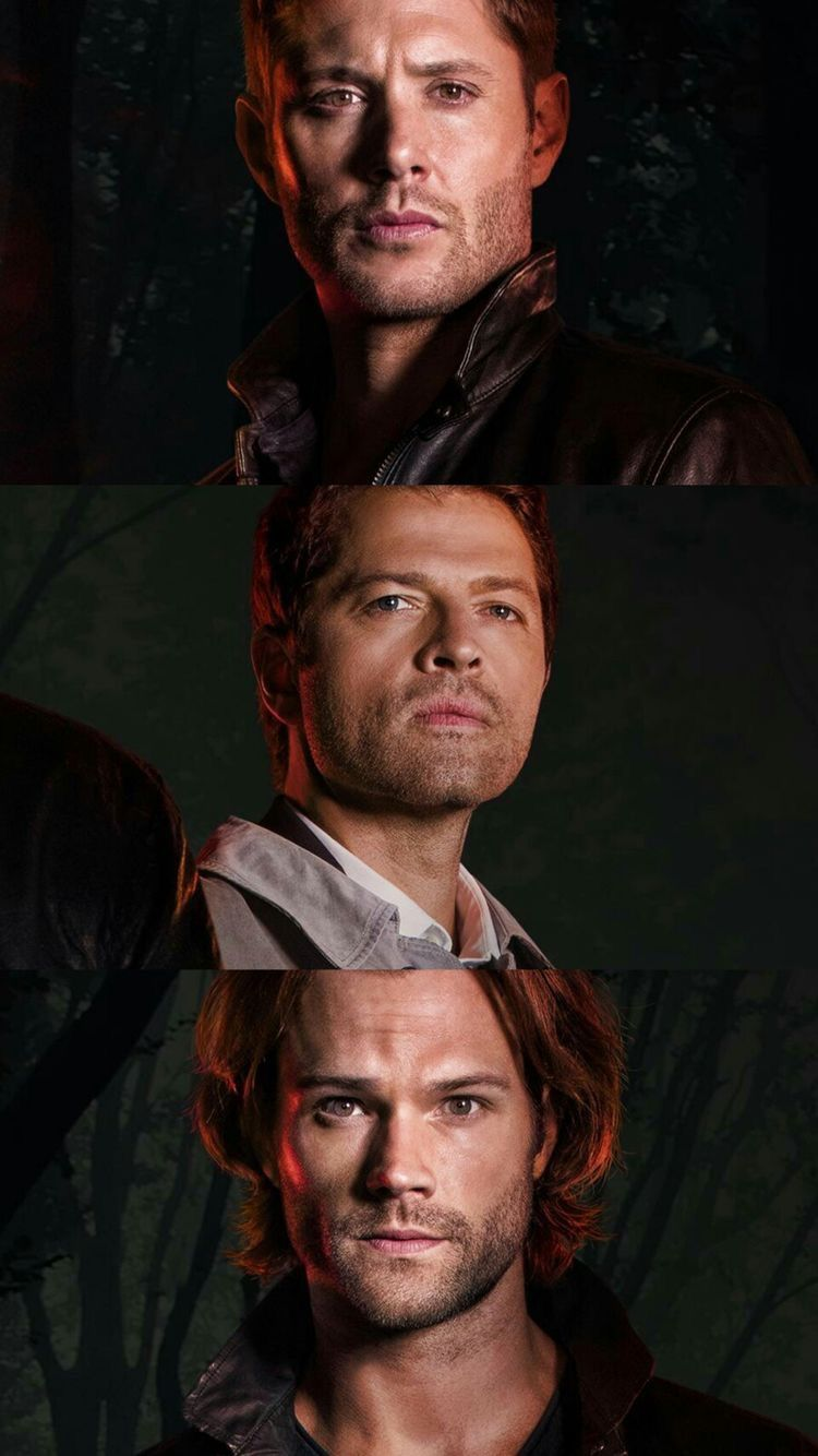 Dean Winchester Castiel And Sam Winchester Supernatural