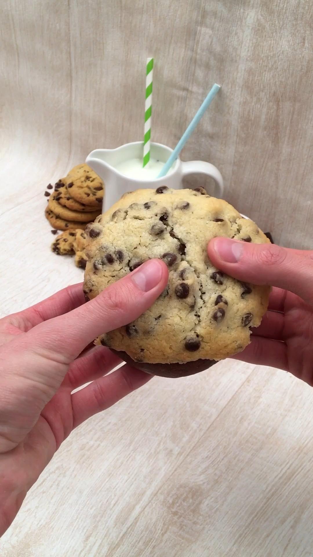 Cookie brioche chocolat