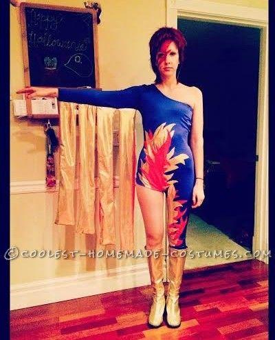 abd6b781461 Flashy Ziggy Stardust Costume... Coolest Halloween Costume Contest