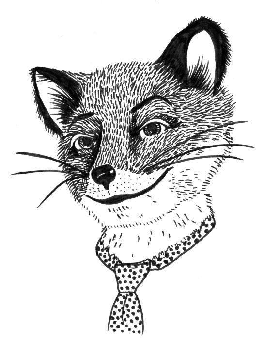 fantastic mr fox drawing - Google Search | Book Characters ...