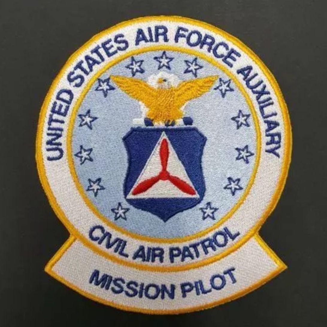 Unofficial Civil Air Patrol mission pilot patch Civil