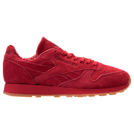 a4f6b0cad3 REEBOK REEBOK MEN'S CLASSIC LEATHER TDC CASUAL SHOES, RED. #reebok #shoes #