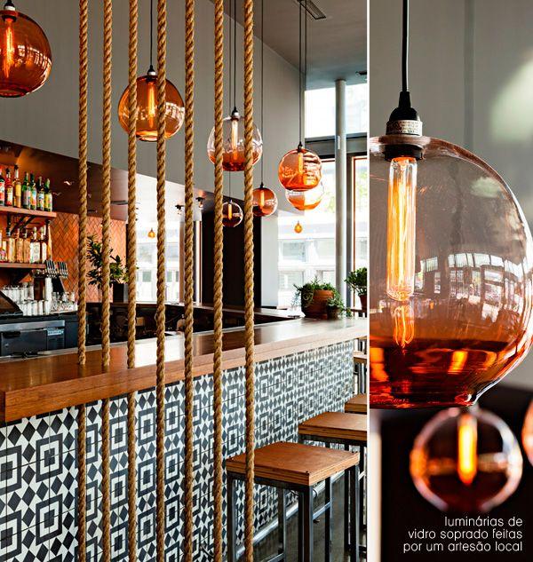 beautiful glass pendant lamps #decor