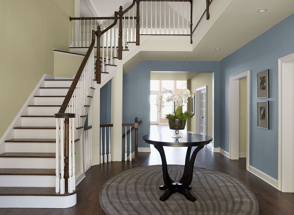 Foyer Colors Ideas : Interior paint ideas and inspiration entry colors