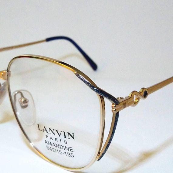 #LANVIN  #vintage #anni80  #occhiali da donna  #montatura
