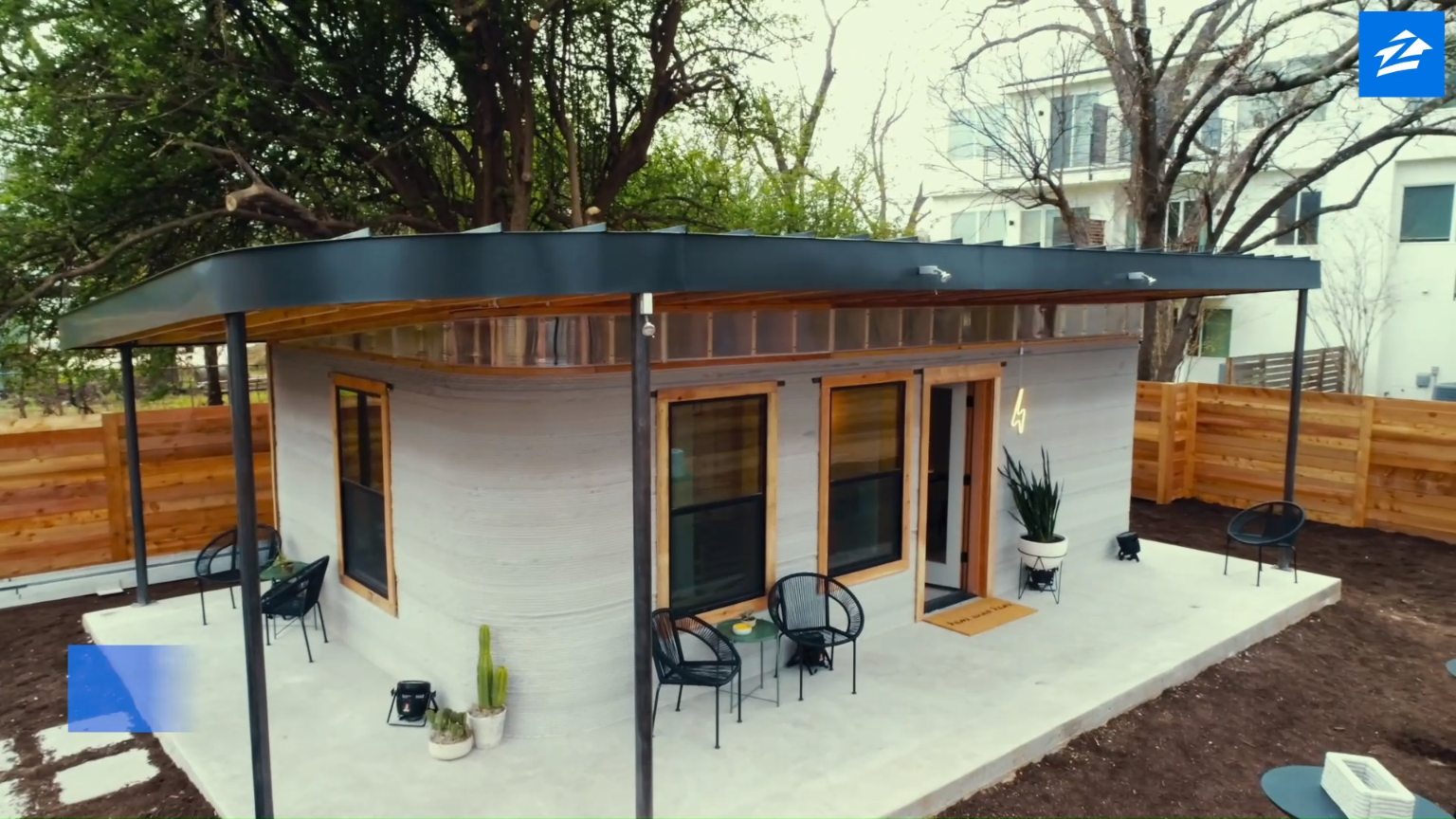 Look Inside Americas First 3D-Printed Home