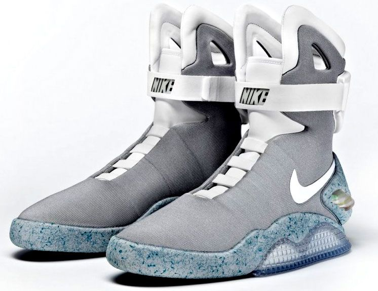 Marty McFly's shoes from Back to the Future. Why yes, I would wear these.