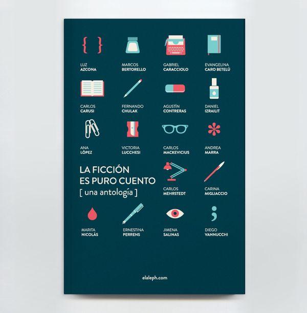 Book Cover Design by Agustín Guerrero, via Behance