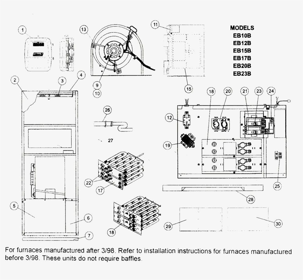 Intertherm Electric Furnace Wiring Diagram For Nordyne Heat Pump Noticeable E2eb 015ha With E2eb 015ha Wir Furnace Electrical Diagram Electrical Wiring Diagram