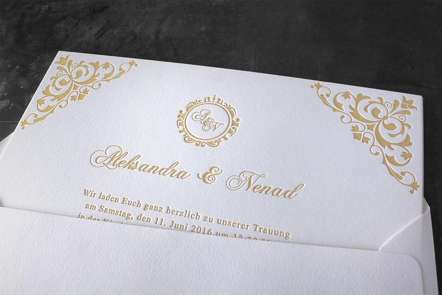 Baumwollpapier Tiegel Buchdruck Letterpress Wien Außergewöhnlich Einladung  Hochzeit Hochzeitseinladung