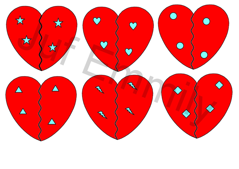 Schrijfmotoriek Hartjes Worksheets T School Valentines