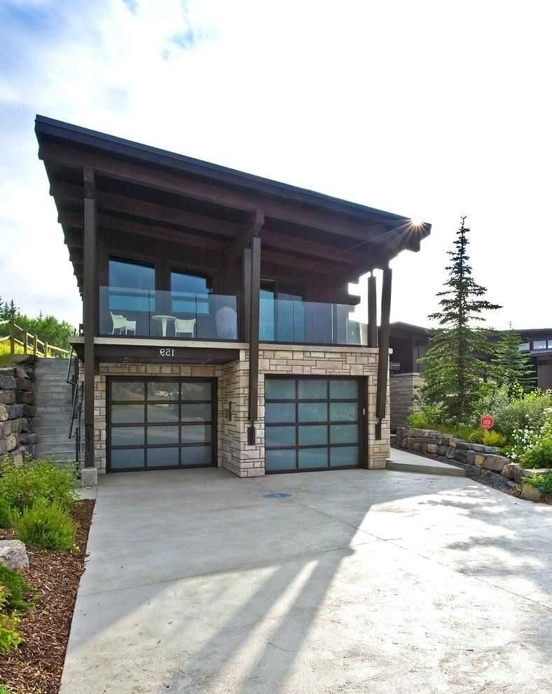 Best Slanted Roof Garage Slant Roof Garage Contemporary With 400 x 300