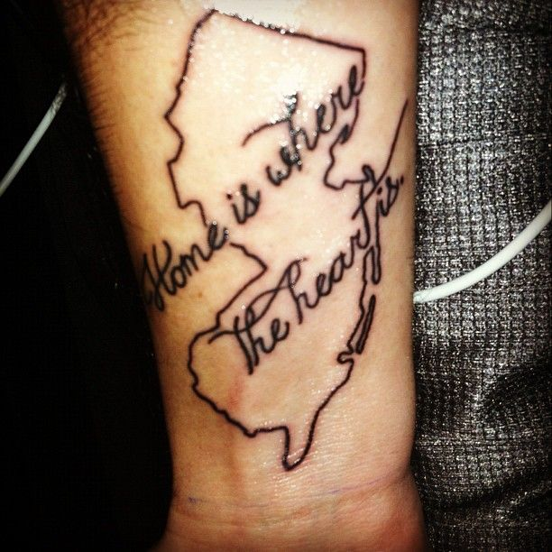 Tattoo Needle Quotes: Jersey Born, Jersey Strong!!