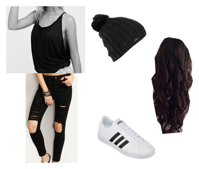 """""""Bar"""" by happypappypandapaws ❤ liked on Polyvore featuring Free People, adidas and Burton"""