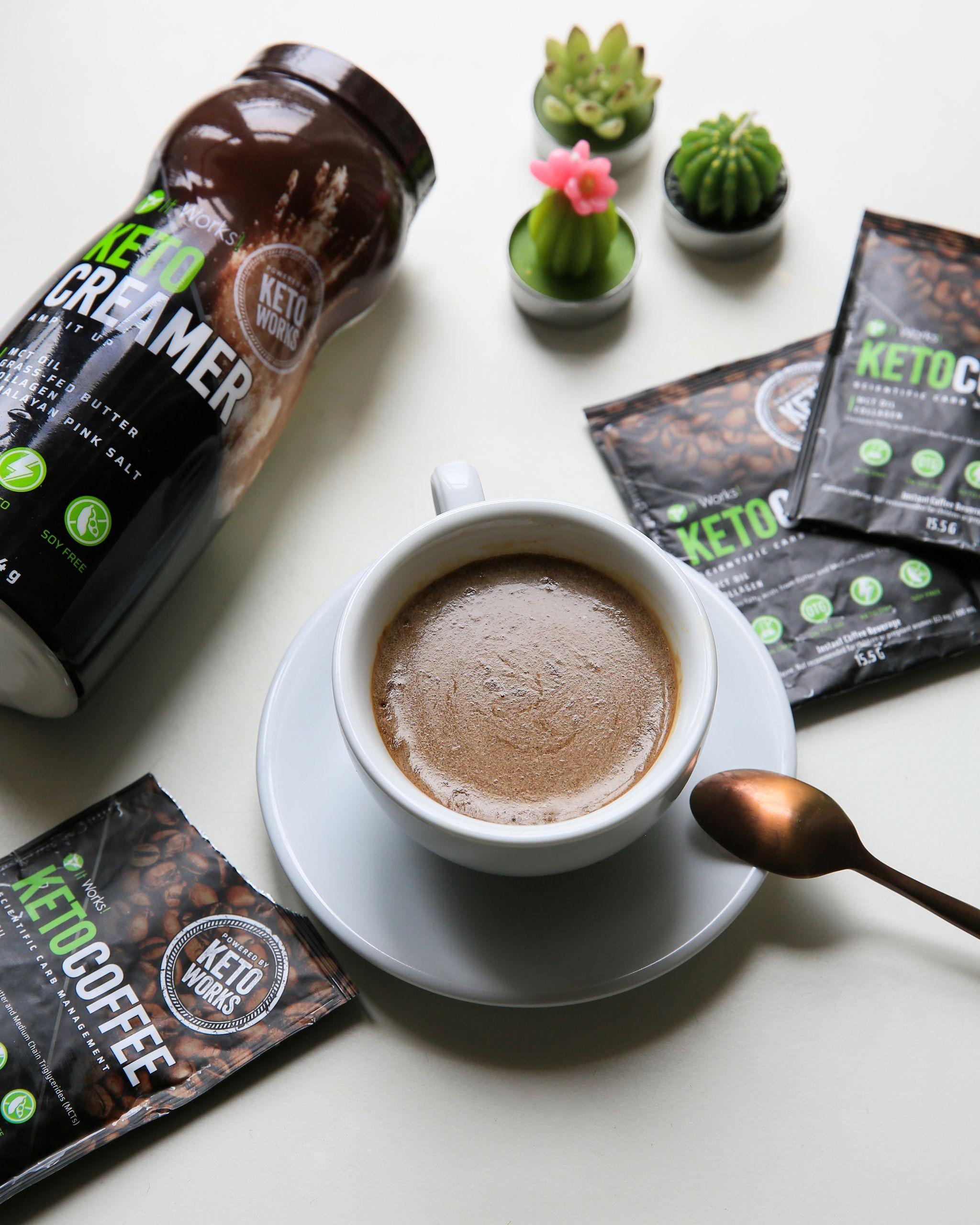Keto Creamer and Keto Coffee. The perfect allies to keep