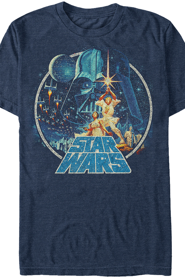 c5f081fa Star Wars A New Hope Poster Art T-Shirt | Guys - Clothing in 2019 ...