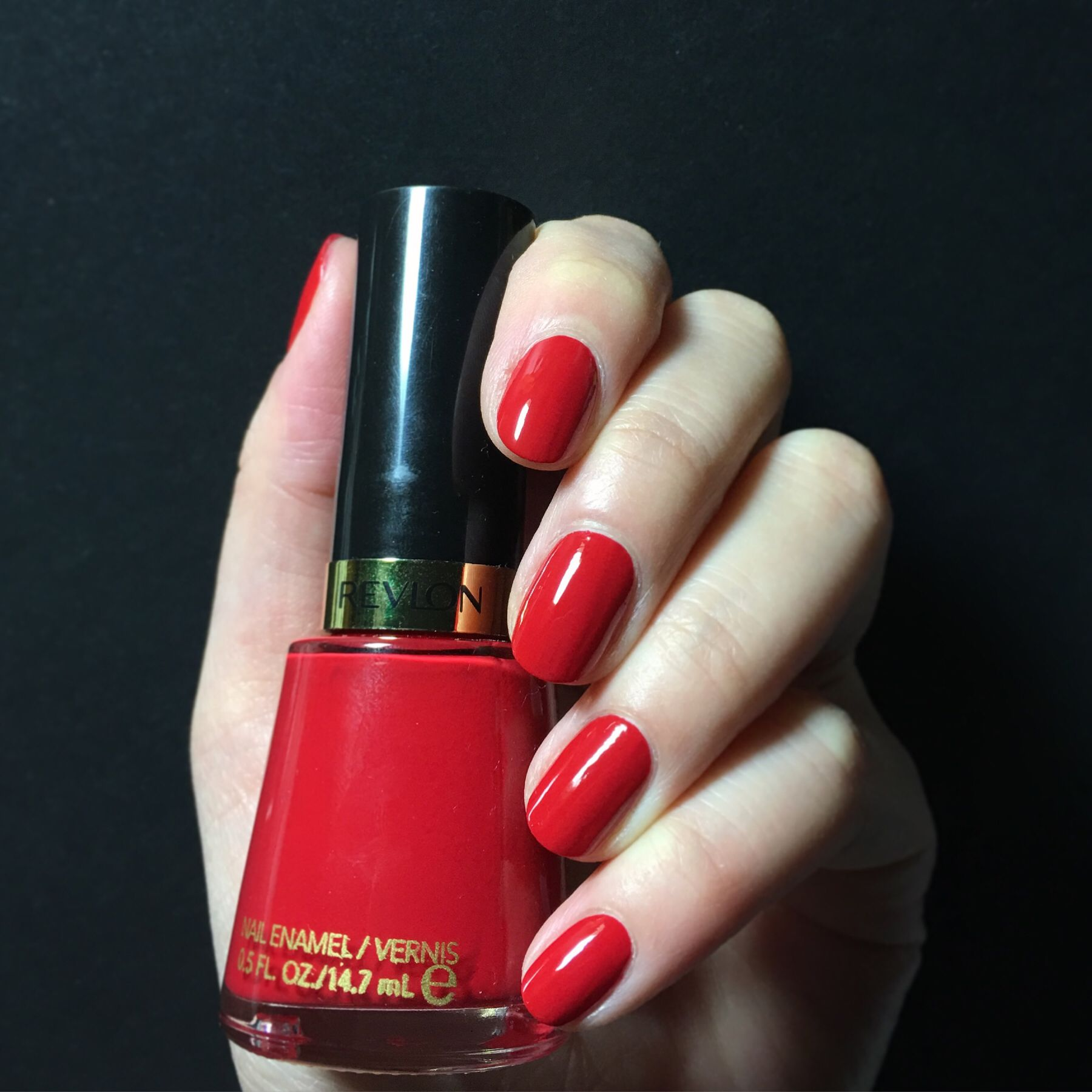 Revlon Nail Polishes: Revlon Revlon Red