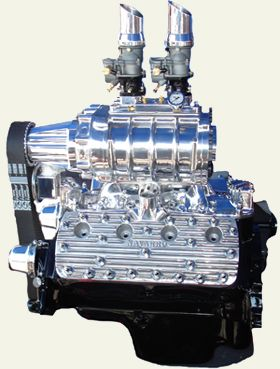 Supercharged Ford Flathead V8 | Engine Art | Motor engine