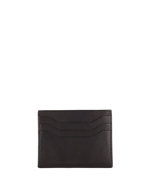 Flap Card Case, Black