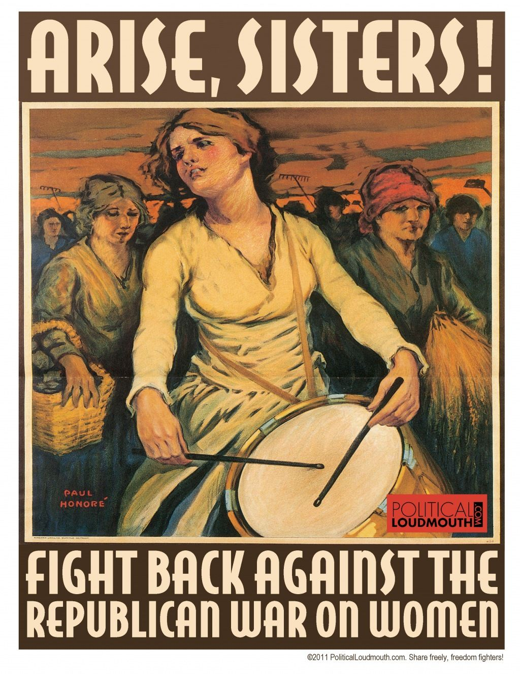 Arise, Sisters! Fight Back Against The Republican War On Women