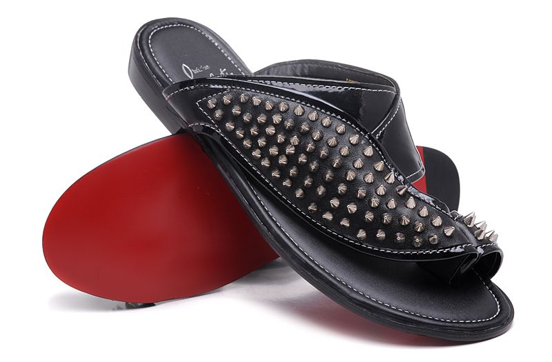 hot sale online 9e1db 48dcc Christian Louboutin Men Sandal | Sandals men in 2019 ...