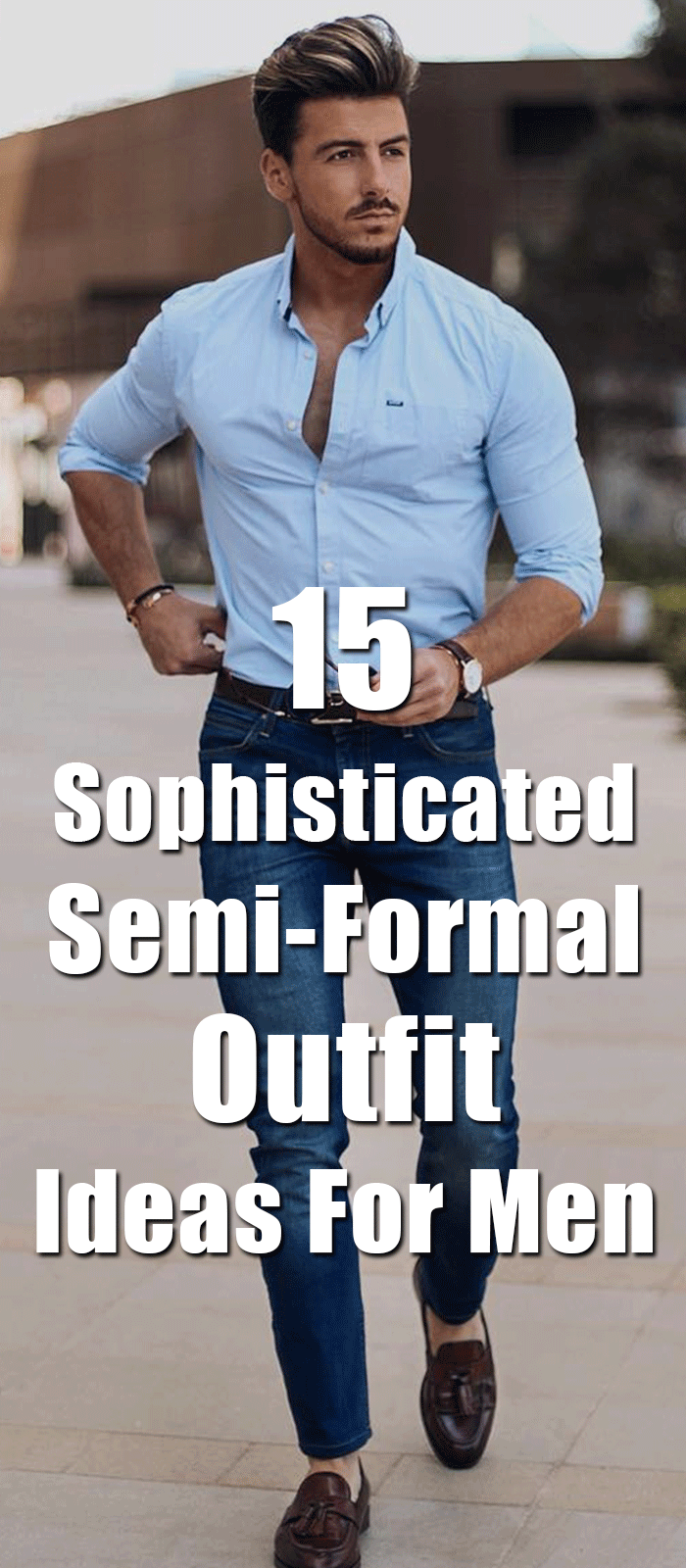 15 Sophisticated SemiFormal Outfit Ideas For Men is part of Semi formal outfits - Here are 15 stylish yet classy semiformal outfits for men to style at every occasion and event  Have a look and change your style!