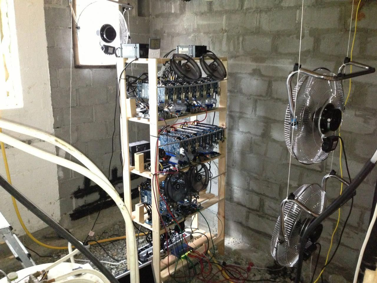bitcoin mining home setup