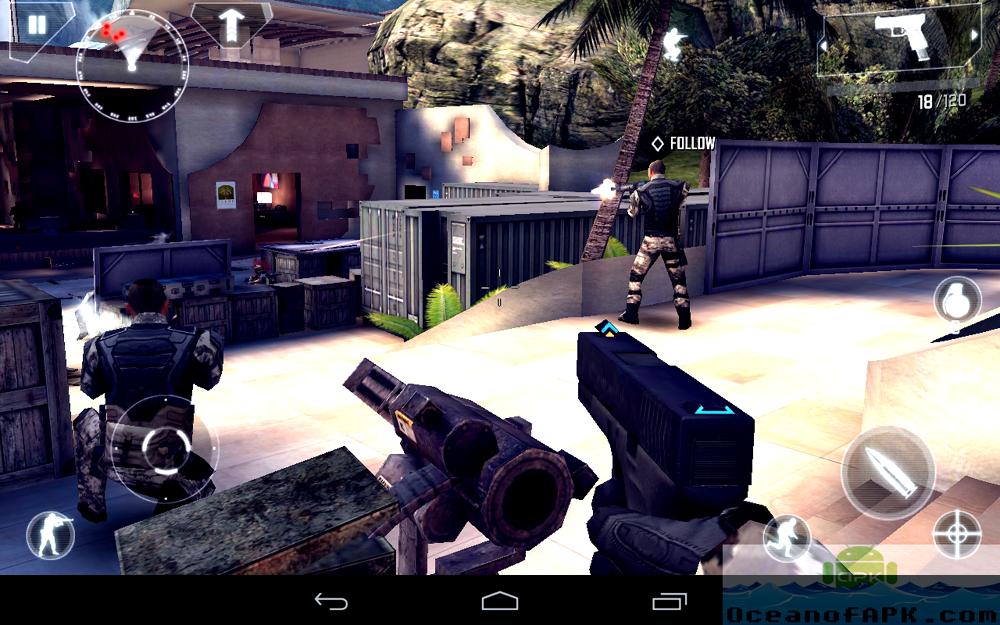 Modern combat 4: zero hour скачать на андроид.