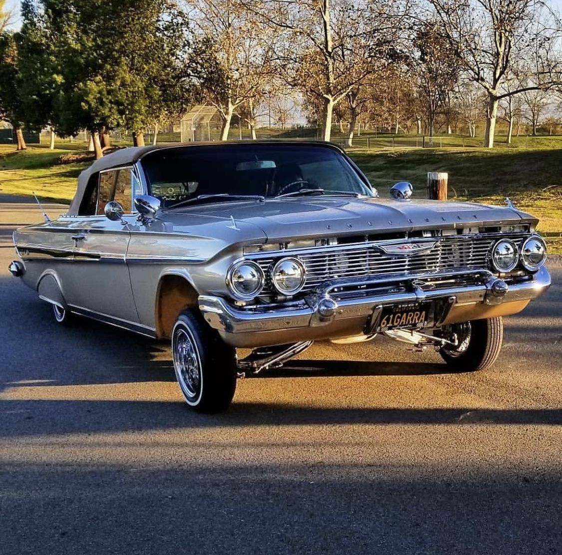 Pin By Fcking Lopez On Sundays 1961 Chevy Impala Lowriders Lowrider Cars