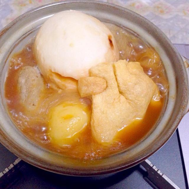 ジャガイモはバターで食べると - 43件のもぐもぐ - 味噌風味おでん by taroumasaydyZ