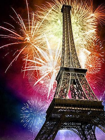 paris france new year 2016
