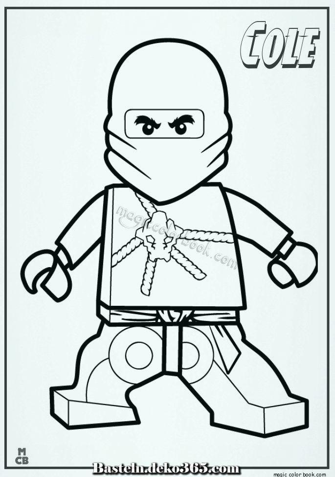 Ausmalbilder Ninjago Lego Cole 01 Basteln Mit Kids Ausmalbilder Ninjago Ausmalbilder Ausmalen