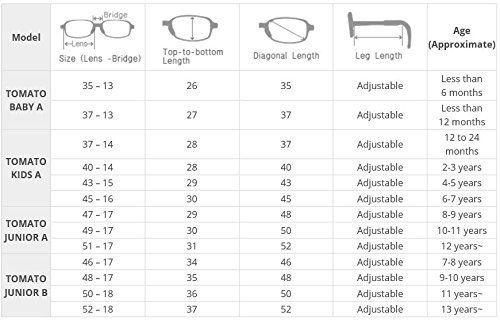 Amazon.com: Tomato Glasses Eye Frames (For Kids) - Super Flexible ...