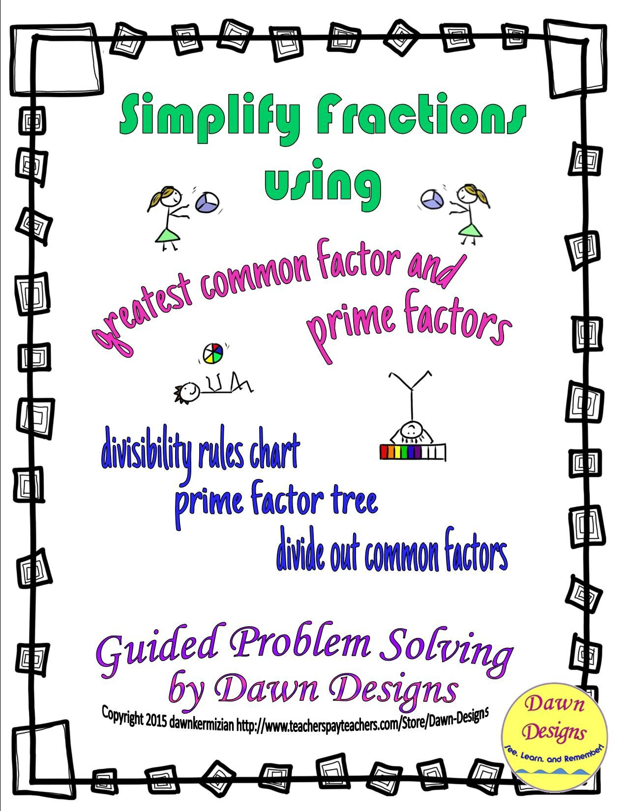 Number Theory Simplifying Fractions