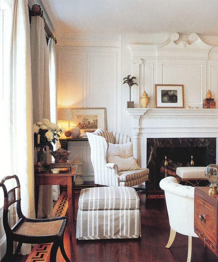 Striped ottoman decoraci n de hogar pinterest decoraciones de hogar lindo y decoraci n for Decoracion hogar rosario
