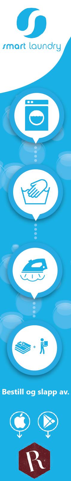 Vi henter, vasker, renser bretter og leverer direkte hjem på døren når det passer best for deg  Bestill rens og vask på under 30 sekunder  🌐 www.smart-laundry.no  Last ned appen: IOS: http://apple.co/2qRMUaF  Andriod: http://bit.ly/2qS82NZ  #smartlaundry #vasker #renser #stryker #bretterogleverer #vaskpåunder30sekunder #bestillogslappav