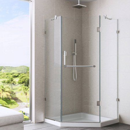 Home Improvement Neo Angle Shower Frameless Shower Enclosures Shower Enclosure