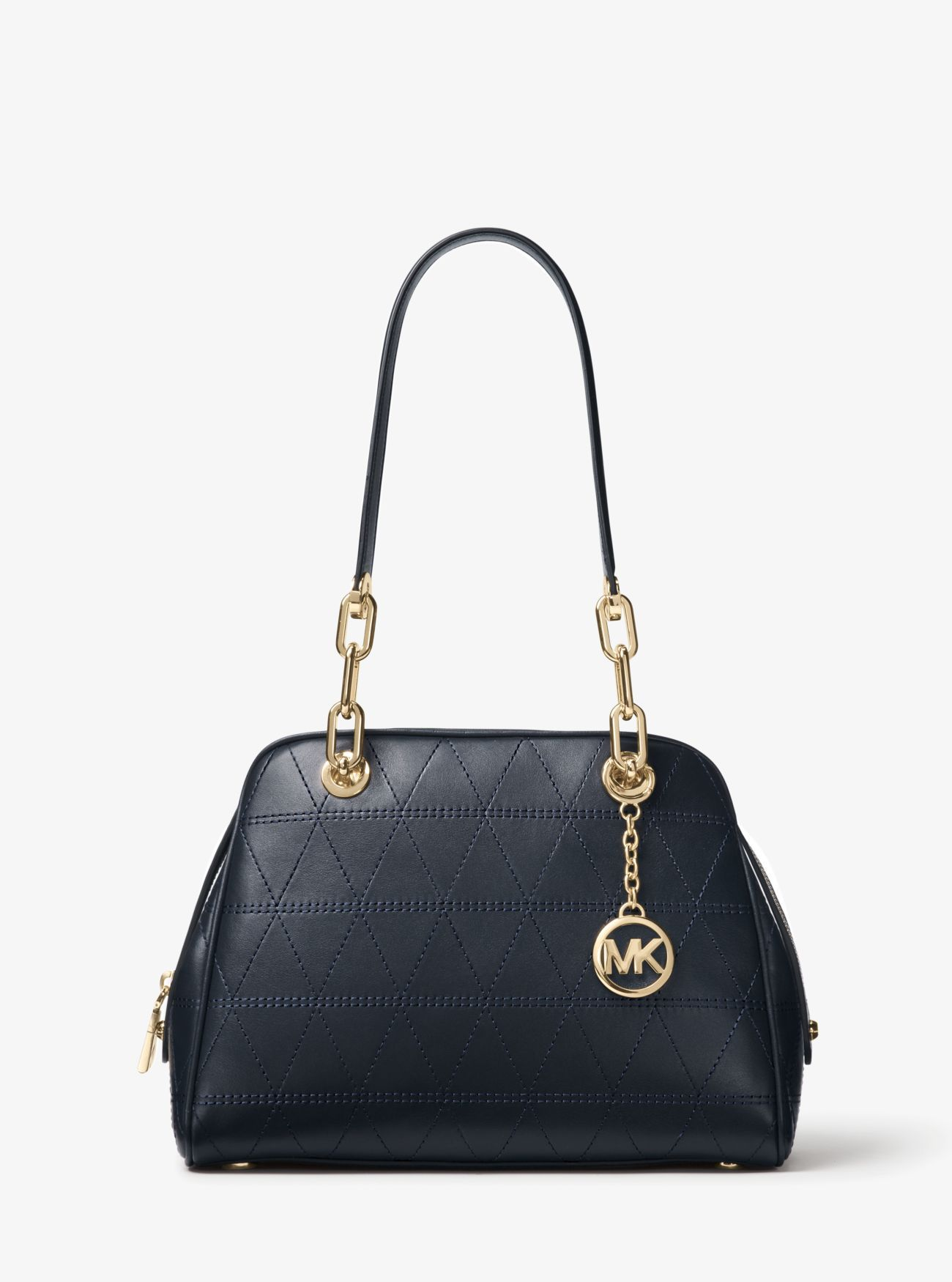 83e78eb48d60 Outlet Michael Kors Admiral Venice Quilted Leather Satchel Discount Online