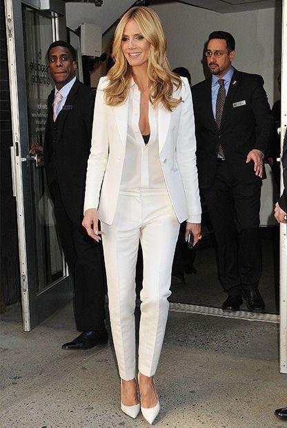 Mode-Musthave: Weißer Blazer