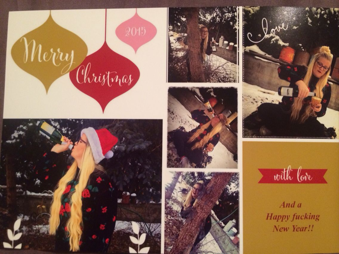 Forever Alone Christmas Card Single Lady Christmas Cards Christmas Women Christmas