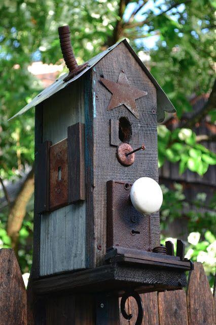 Garden Junk Ideas For The Spring Bird Houses Diy Bird House