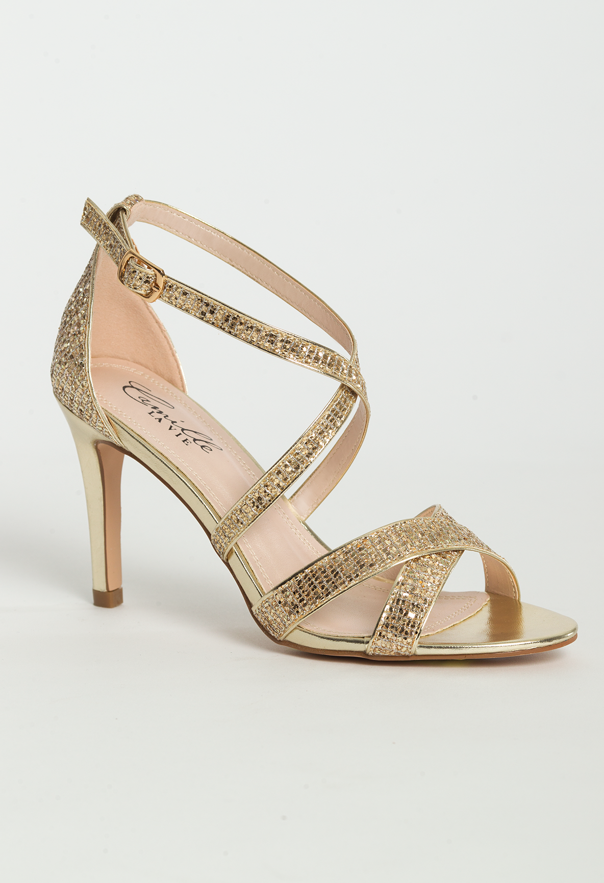 Mid Heel Sandal Features 3 Heel Color Coordinating Heel Adjustable Ankle Strap Padded Insole Mediu Sandals Heels Mid Heel Sandals High Heel Sandals