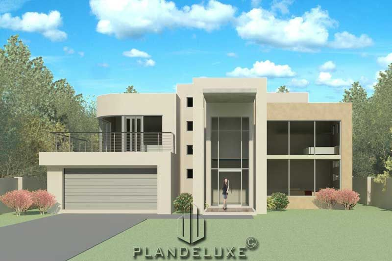 434sqm 4 Bedroom Modern House Plan Home Designs Plandeluxe House Plans South Africa Bedroom House Plans 4 Bedroom House Plans