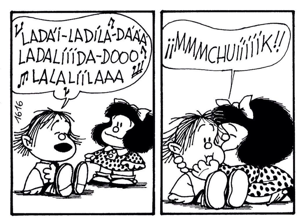 Guille y Mafalda