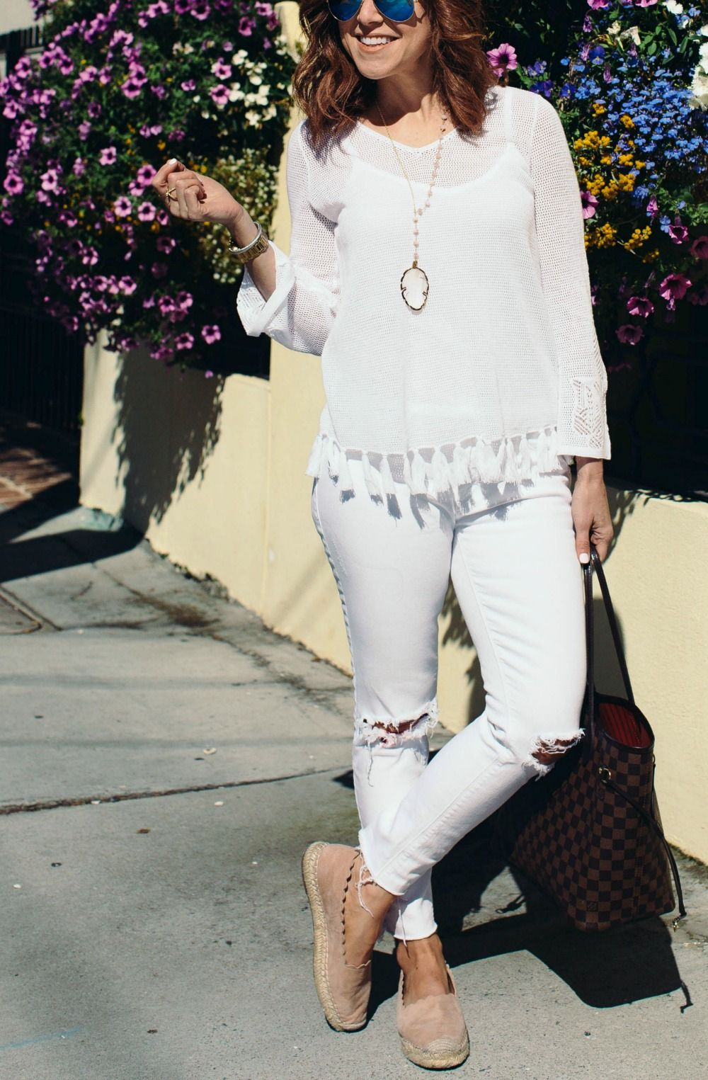 Two Ways to Wear: All-White Outfit   THE MODERN SAVVY, a life & style blog